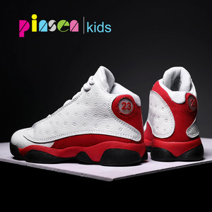 PINSEN 2020 New Kids Basketball Shoes boys Sneakers Non-slip Casual Children Shoes For Boy Girls Sneakers Breathable Sport Shoes