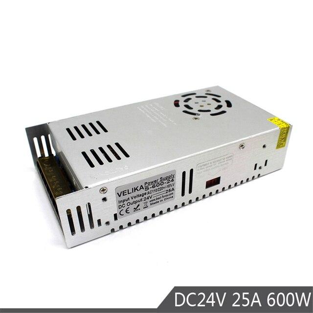 Single Output Switch power supply 24V 25A 600W Power Source ...