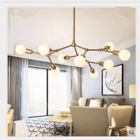 Современные подвесные светильники suspendus блеск столовая ресторане отеля освещение люстры де Сала светодиодный подвесные светильники кухня