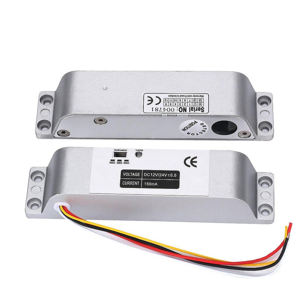 High Quality DC 12V Fail Safe Electric Drop Bolt Lock for Door Access Control Security Lock Door