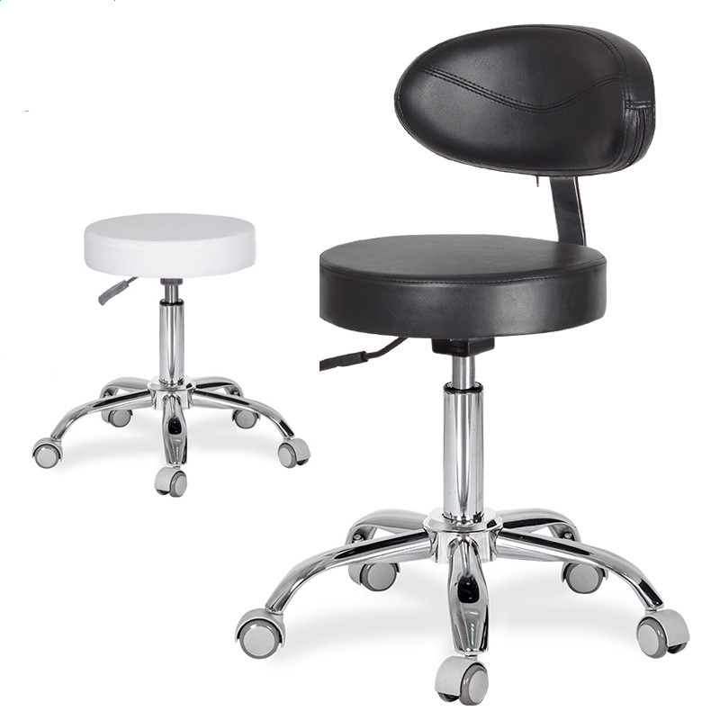 Cool Us 79 0 Dental Dentists Mobile Chair Nurses Stools W Backrest Pu Leather And Medical Wheels Adjustable Height For Studio Office Salon In Stools Onthecornerstone Fun Painted Chair Ideas Images Onthecornerstoneorg