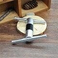 1X Aluminum Metal Pollen Press Presser Compressor Herb Grinder Tobacco Spice Crusher Grinder Color Random