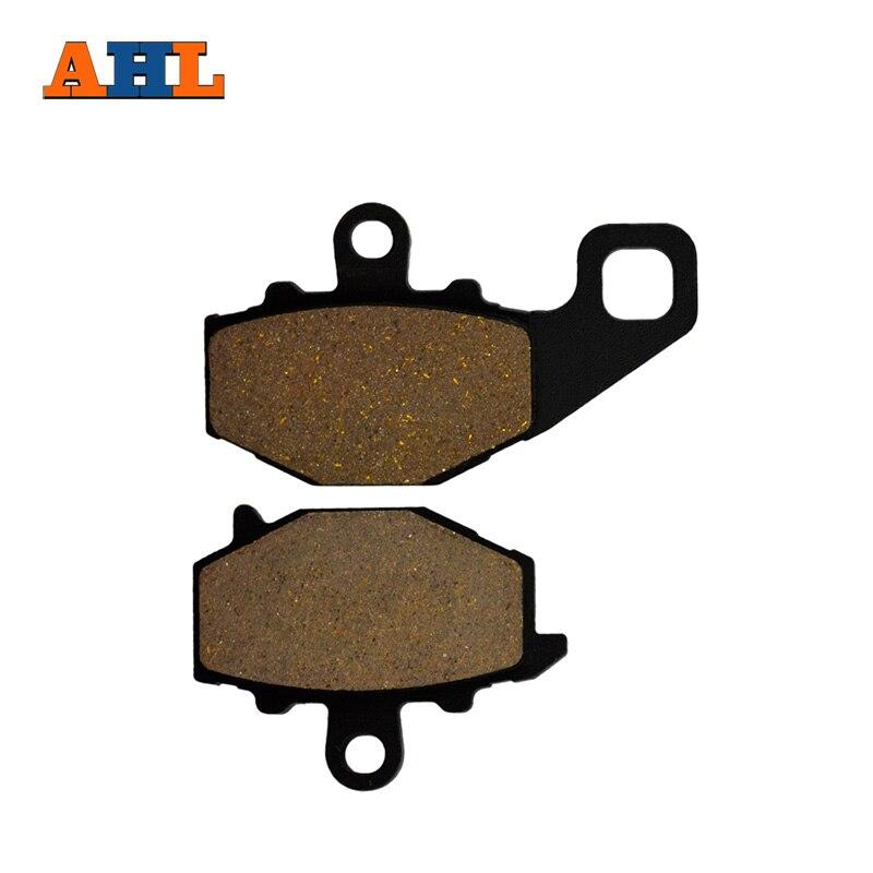 AHL Motorcycle Brake Pads Rear Disks For KAWASAKI ZZR 400(ZX 400 N1/N2/N3/N4/N5/N6/N7) ZZR 600 (ZX 600 E1-E13) FA192