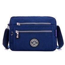 JINQIAOER Women Messenger Bags High Quality Ladies Handbag Shoulder Bag for Women Waterproof Nylon Crossbody Bag bolsas feminina