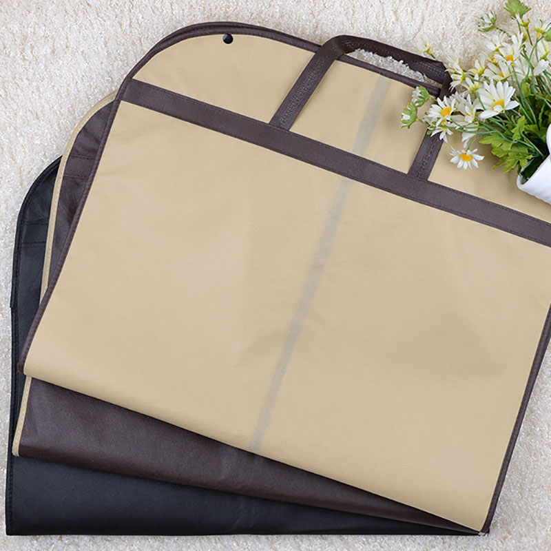 Image 5 - 2019 Suit Dust Cover Bag Portable Travel Business Folding Hanging Garment Bag for Home Household Clothes Protector Case AC025-in Clothing Covers from Home & Garden
