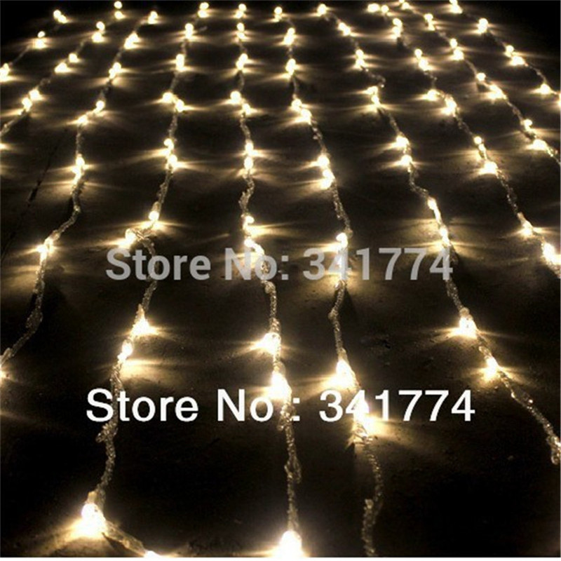 3*3m LED Curtain String Lights Waterfall Garland for Christmas New Year Home Garden Holiday ...
