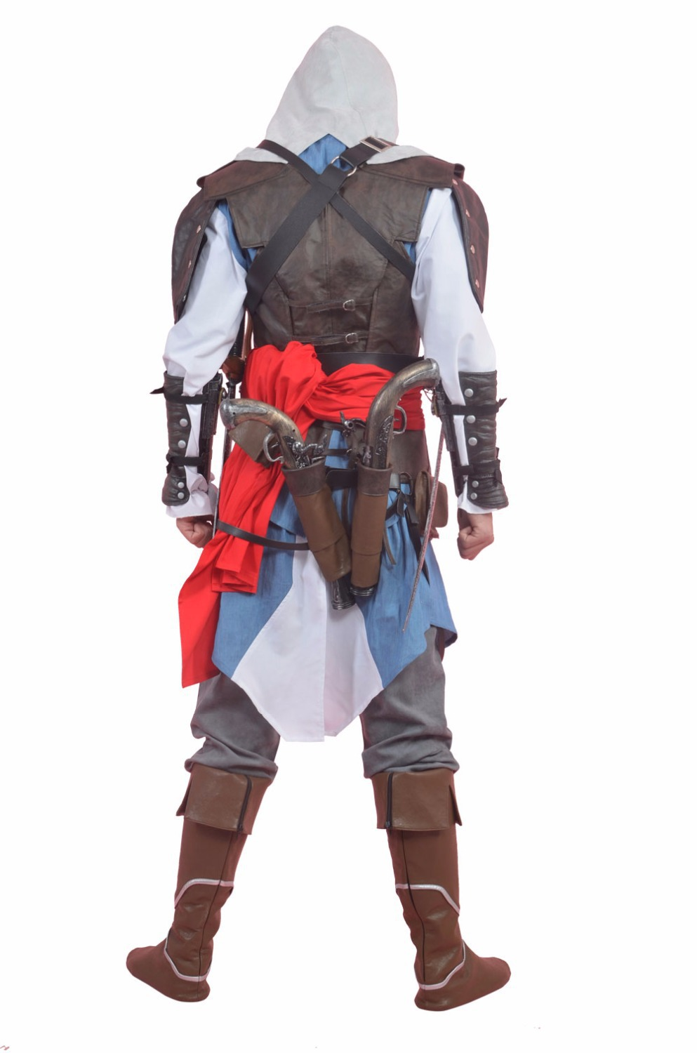 Free Shipping Assassins Creed 4 Cosplay Costume Assassins Creed 4 Edward  Canvey 6parts Deluxe Prop for Halloween / Party on Aliexpress.com | Alibaba  Group