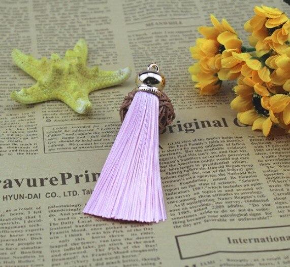 Новое модное женское кольцо для ключей с бахромой #16022