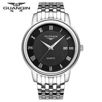 Luxury Brand Original GUANQIN Quartz Watch Shockproof Waterproof Sport Sale Fashion Watch for Men Clock Famous Male Wristwatches