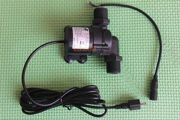 Solar DC 12V 24V gorąca pompa wodna cyrkulacyjna silnik bezszczotkowy do pompy wodnej