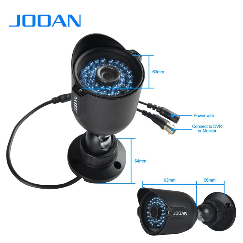 ЈООАН 1080П 720П сигурносна камера ЦМОС - Безбедност и заштита - Фотографија 5