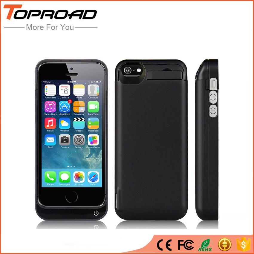 Цена за 4200 мАч Батареи Клип Чехол Для Apple iPhone 5 5c 5S SE Внешнего Резервного Питания Банк Зарядное Устройство Назад Стенд Golder Распространяется на Случаи