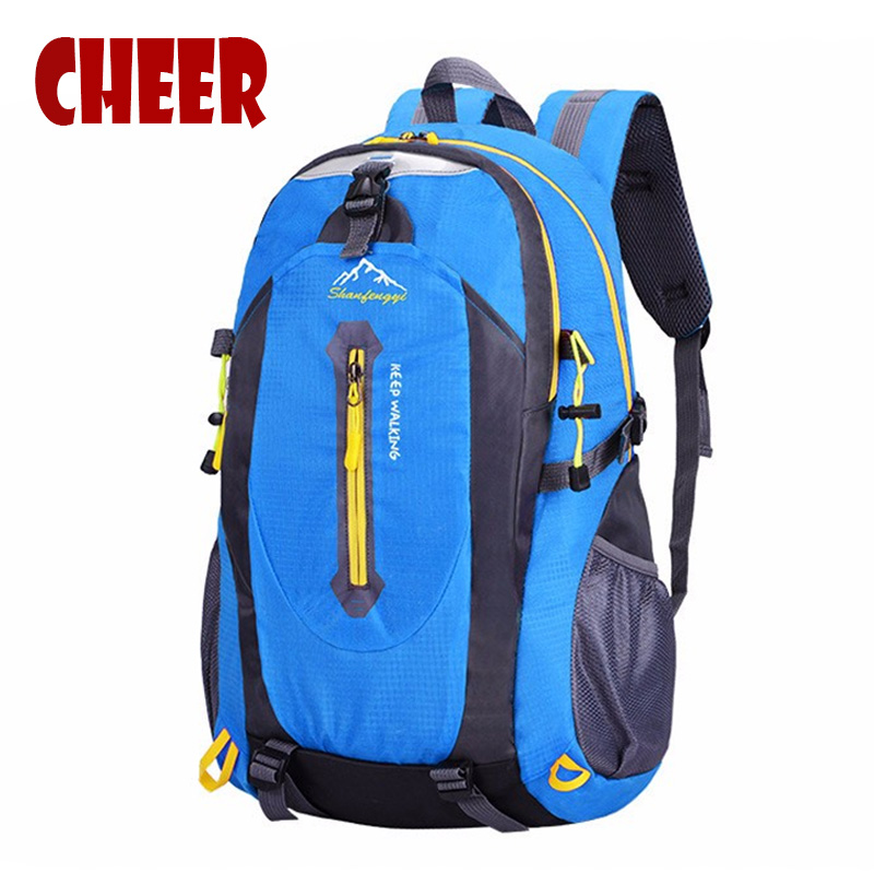 Backpack High capacity Casual travel bag fashion student school bags nylon Waterproof Mountaineering bags backpacks Laptop bag