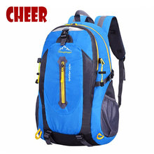 Backpack High capacity Casual travel bag fashion student school bags nylon Waterproof Mountaineering bags backpacks Laptop bag(China)