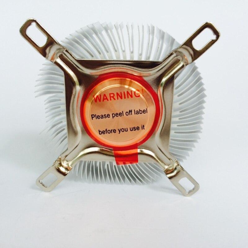 Image 5 - DIY радиатор процессора 87,2*85,2*24,5 мм чистый алюминиевый радиатор для Светодиодный кулер Охлаждение процессора медный сердечник радиатора-in Вентиляторы и охлаждение from Компьютер и офис