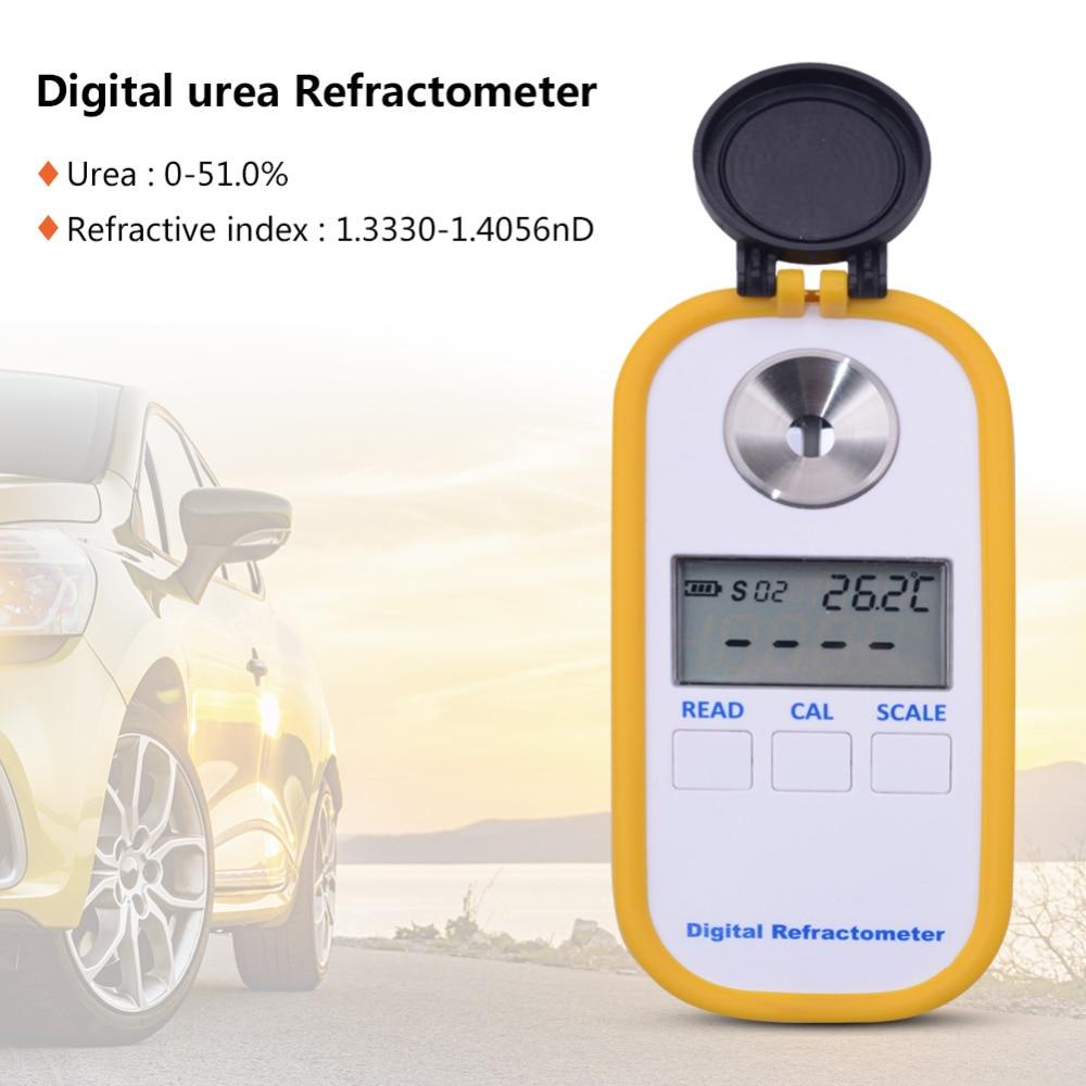 Yieryi DR602 Digital Urea Refractometer Vehicle Urea Concentration Meter Urea 0 51 Refractive Index 1 3330