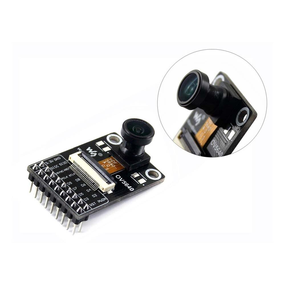 Camera Module Based On OV5640 Image Sensor, 5 Megapixel (2592x1944), Fisheye Lens To Achieve 170 Degree Diagonal