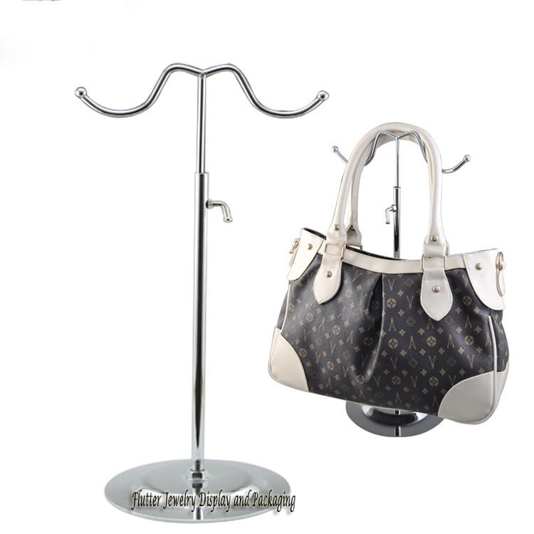 Free Ems 5pcslot Metal Handbag Display Stand Bag Showing Rack