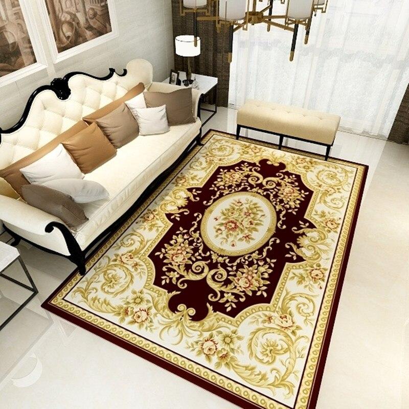 US $42.76 16% OFF|Oriental Area Rugs,Vintage Lime Green Bedroom Sofa  Carpets,Water Washable Living Room Rug 3D creative door mat plant carpet-in  ...