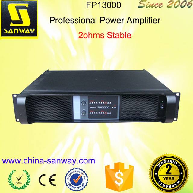 FP13000 Professional Most Power Amplifier Voice Amplifier Portable
