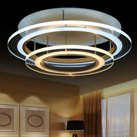 Acryl Lustre Modern LED Ceiling Lights For Living Room 220V Home Fixtures Lighting With Remote Control