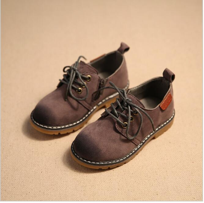 children shoes boys shoes 2016 new autumn winter fashion gentleman baby boys shoes wear-resistant Martin boys boots girls shoes