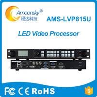 professional AMS LVP815U usb led video wall controller as nova vx4 stadium led advertising for rgb led video wall panel
