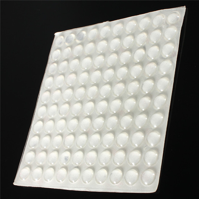 Buy 100 x adhesive silicone feet bumpers anti collision crash pad door cupboard - Drawer bumper pads ...