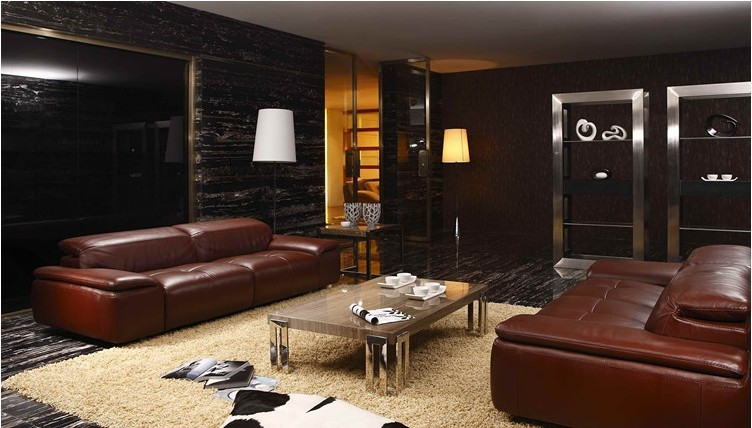 ecksofa leder cognac - moderne möbel für innengestaltung ...