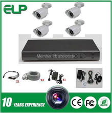 outdoor waterproof real time standalone 4ch ahd camera set