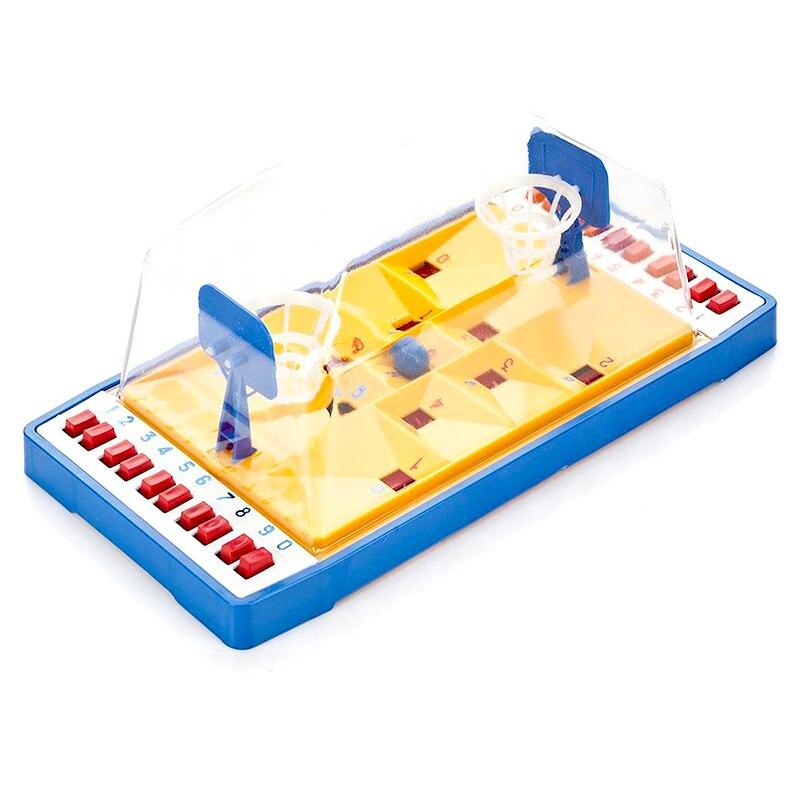 Backetball tafel board mini game desktop Interactieve voor twee Hoop Speelgoed Grappig Vinger Sport Schieten Party - 2