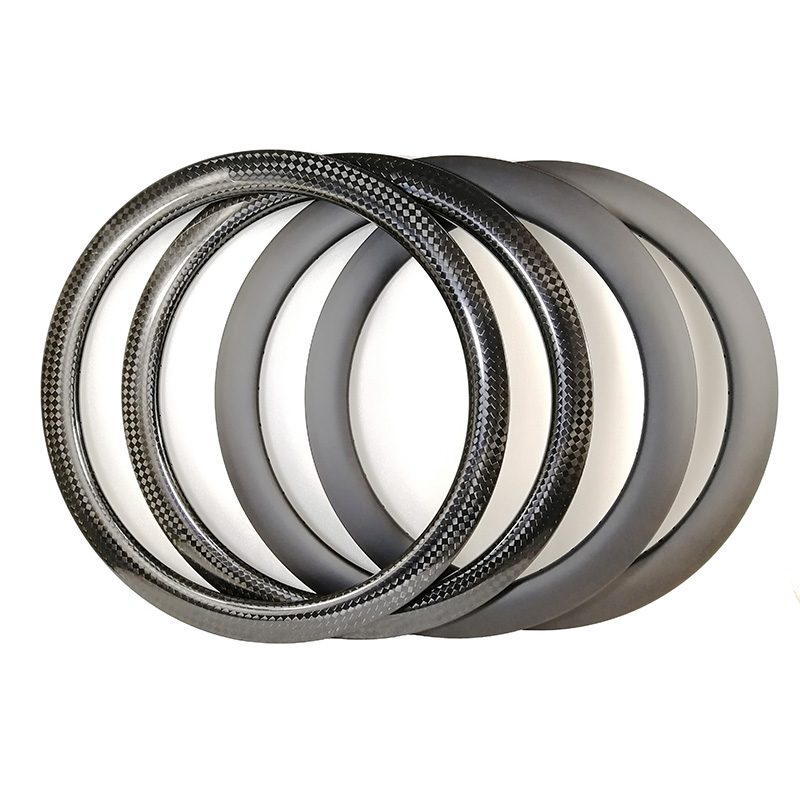 Road DISK carbon rims 60mm 50mm Clincher or Tubular bike wheels UD 3K 12K MATT GLOSSY