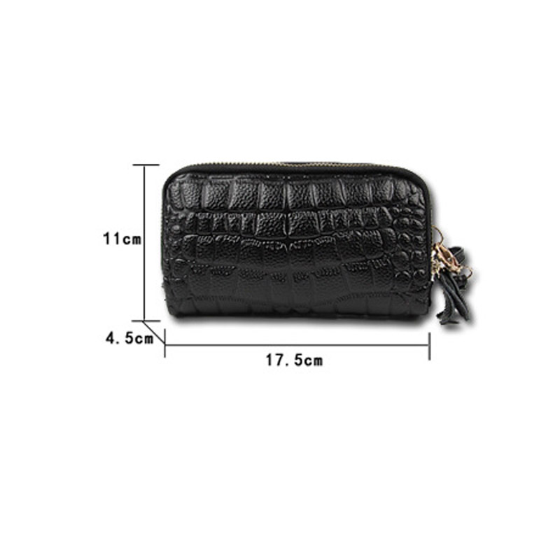 Leather Women Coin Bag Purse Zipper Stone Organizer Wallets Clutch Wristlet Wallet Bag Phone Key Case Credit Card Holder Tote