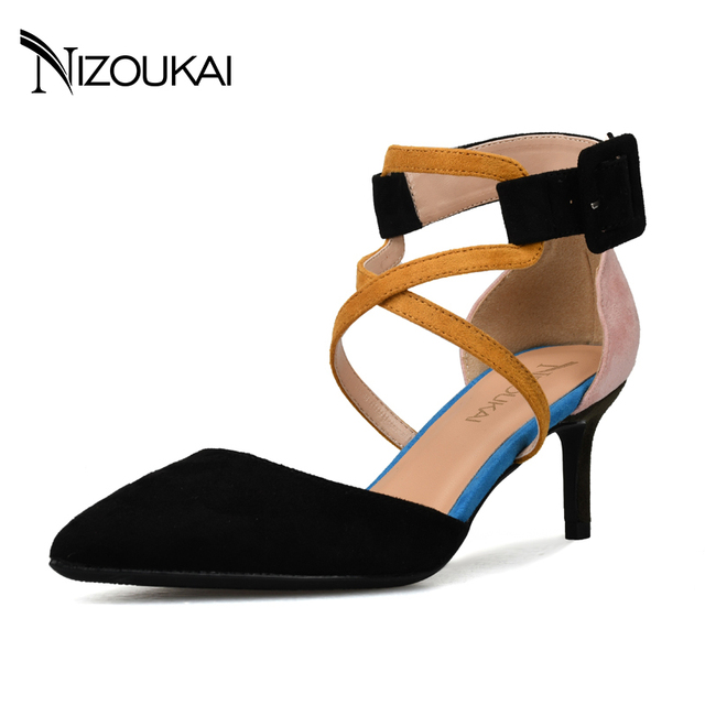 a70fb2cd2bc573 Sexy Pink Pointed Toe Women Shoes High Heel 6 CM Heels Pumps Woman Heels  Shoes Ladies red gold Shoes Plus Size 35-44 l07-r6