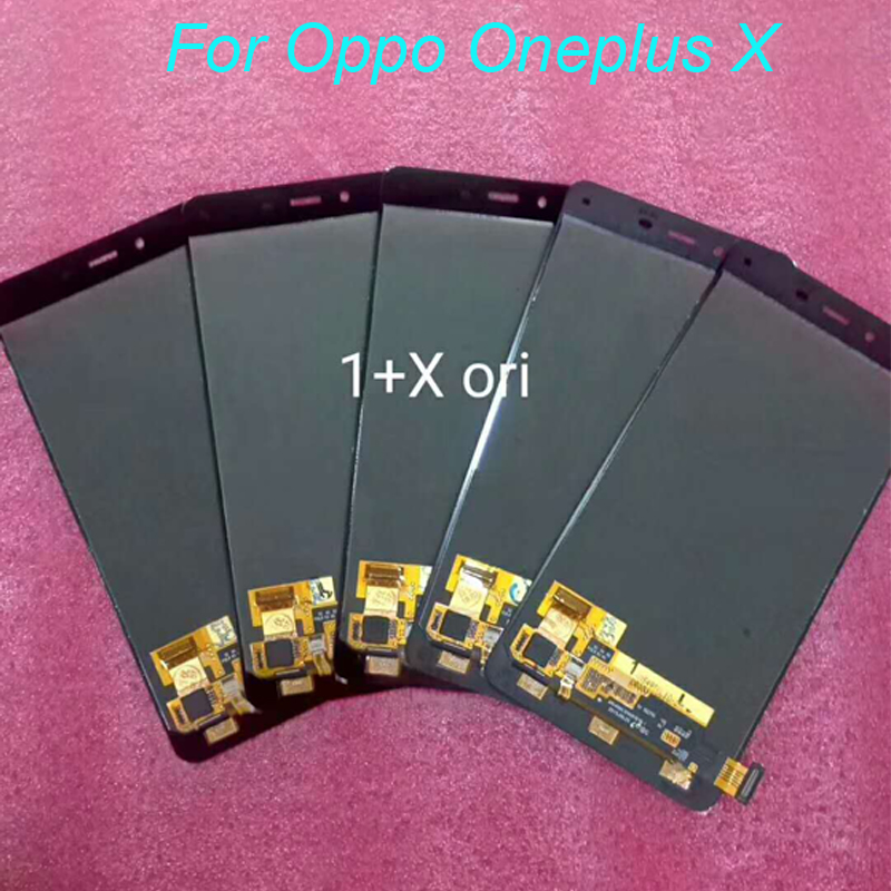 10pcs/lot For Oneplus X LCD Display Touch Screen Assembly Digitizer Glass Panel For Oneplus X E1003 Replaceme IN Stock