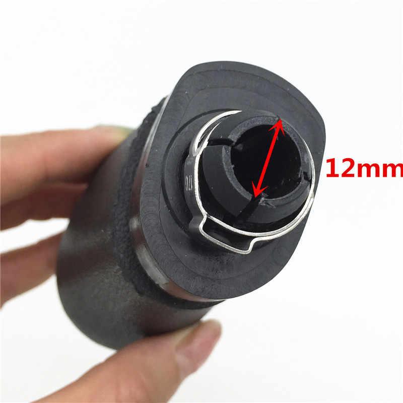 Newbee Schwarz Kappe Schaltknauf Hebel Stick Stift Für Mercedes Benz C-Klasse W203 S203/W202 BJ (93-01) /A-Klasse W168 (97-04)