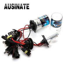 One Pair Xenon H4 HID Bulb h4 with halogen font b lamp b font For car