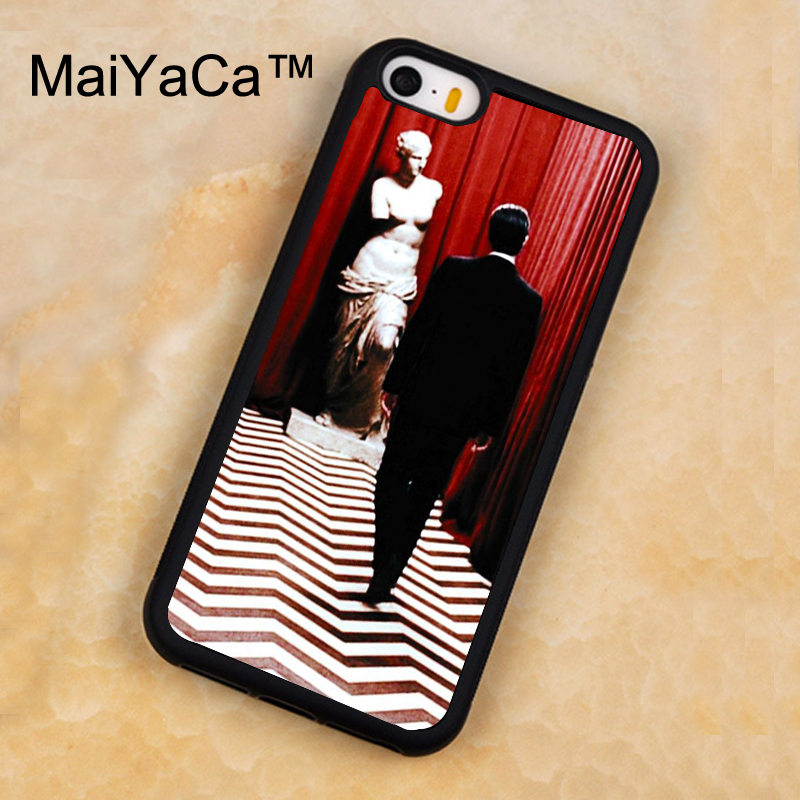 MaiYaCa Twin Peaks Soft TPU Phone Cases For iPhone 5 5s Cover Case Full Cover For iphone SE Cases Phone Bag Capa