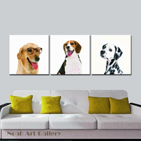 American Breed Of Dogs Animal Wall Art Modern Photo Print For Children Room Wall Hanging HD