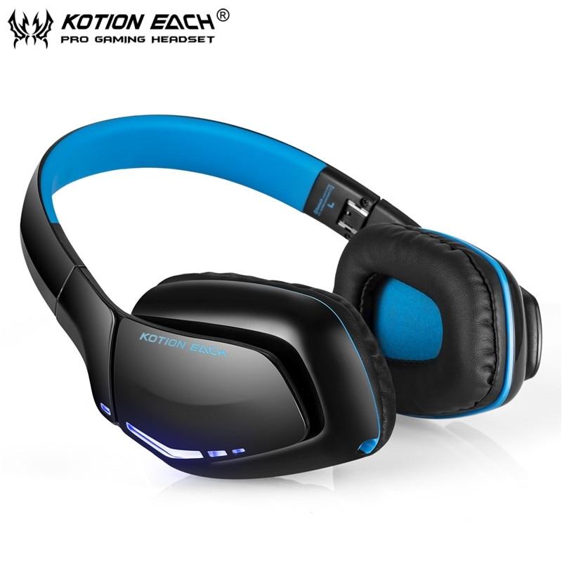 Kotion каждый B3506 Игровые наушники Складные bluetooth Беспроводной гарнитура Шум изоля ...