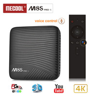 MECOOL M8S PRO L Android 7.1 Amlogic S912 3G DDR3 16/32GB 2.4G/5.8G WiFi Bluetooth H.265 4K Smart IPTV TV Box Android Tv Box