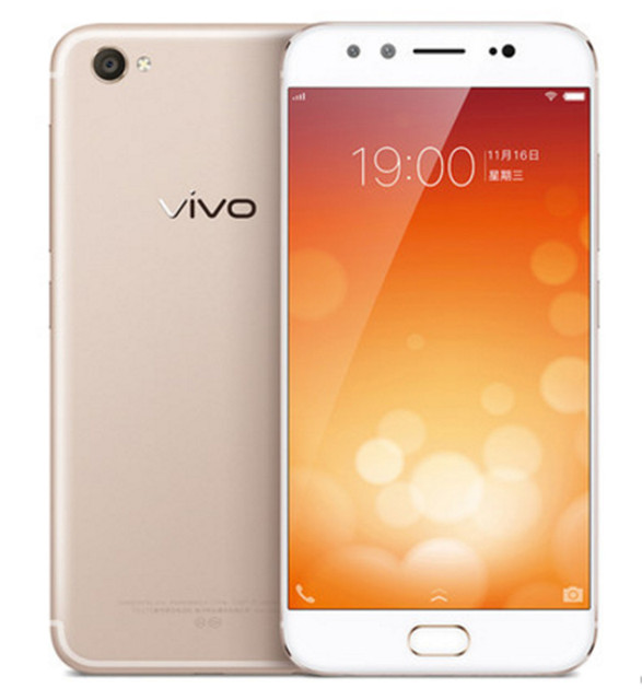 "Original Vivo X9 4G LTE Mobile Phone MSM8953 Octa Core 5.5"" FHD 1920X1080 4GB RAM 64GB ROM Front Dual20.0MP+8.0MP Fingerprint"