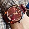Высококачественные повседневные женские часы с большим циферблатом  Роскошные Кварцевые женские часы с нейлоновым ремешком  Часы montre femme ...