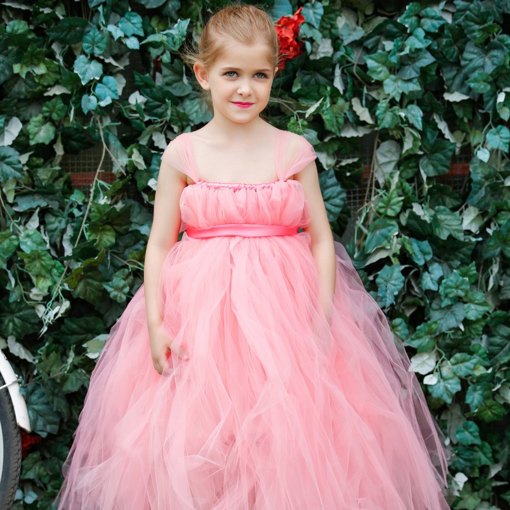 New charm Pageant Flower Dresses for Little Girls Prom Wedding ...
