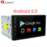 Junsun 7 Inch Android 6 0 Quad Core 2 Din Universal Car DVD Player For VW