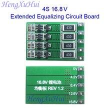 4S 16.8V Li-ion Battery Extended Equalized Charging PCB  Board  Equalized Charging Current 100mA 300mA optional