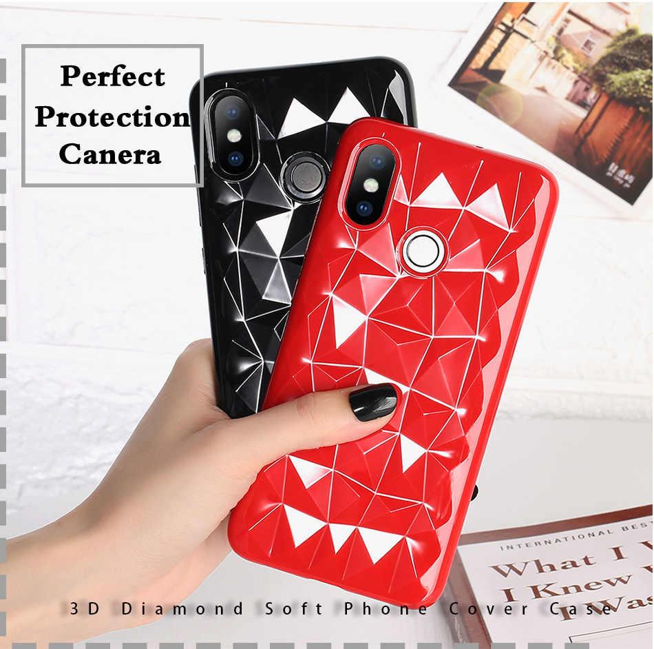 Funda de teléfono de silicona suave diamante 3D para Huawei P20 Pro lite Nova 3 3i 2i Honor 9 Lite V10 Note funda de 10 Fundas de juegos