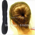 Женщины аксессуары для волос губка бун клип бывший волос лента женщины головные уборы