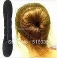 Moda mujeres accesorio para el pelo de la esponja del bollo del fabricante del Clip del pelo de Headwear envío gratis