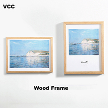 Nature Wooden Classic Picture Frame Photo A4 A3 Black White Coffee Wood Color Certificate Frames Pictures Poster Photos